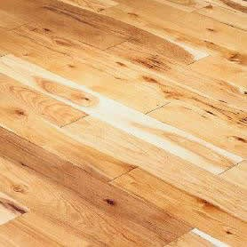 Hickory Solid Character Homerwood Flooring 6 Natural