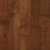 Birch Engineered Hand Scraped Armstrong Flooring 5 Cobbler Brown