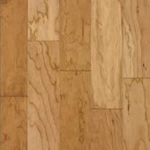 Cherry Engineered Hand Scraped Armstrong Flooring 3 Natural
