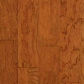 Cherry Engineered Hand Scraped Armstrong Flooring 5 Earth Tone