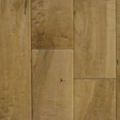 "Wheat 5"" Engineered Maple Hawa Hand-Scraped Flooring"