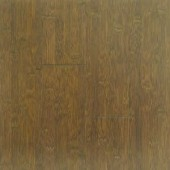 Stained Brown Black Horizontal Bamboo Flooring
