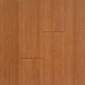 Stained Burgundy Horizontal Bamboo Flooring