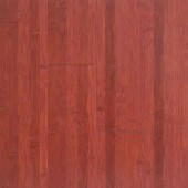 Stained Cherry Horizontal Bamboo Flooring Wide Plank