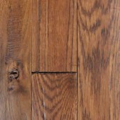 Oak Hand Sculpted Mullican Flooring 2-1/4 Coffee