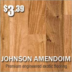 Johnson hardwood floors brazilian oak amendoim on sale