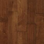 Birch Engineered Hand Scraped Armstrong Flooring 5 Cobbler Brown