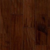 Hickory Engineered Hand Scraped Armstrong Flooring 5 Bark Brown