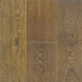 "Saddle 5"" Engineered Oak Hawa Hand-Scraped Flooring"