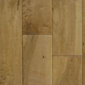 """Wheat 5"""" Engineered Maple Hawa Hand-Scraped Flooring"""