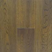 """Antique 5"""" Solid Oak Hand-Scraped Hawa Flooring"""