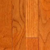 Red Oak Solid Kingswood Flooring 2-1/4 Butterscotch