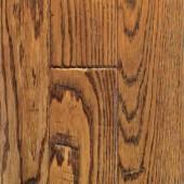 Oak Hand Sculpted Mullican Flooring 4 Saddle