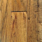 Hickory Hand Sculpted Mullican Flooring 4 Saddle