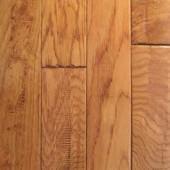 Oak Hand Sculpted Mullican Flooring 2-1/4 Gunstock