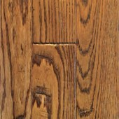Oak Hand Sculpted Mullican Flooring 2-1/4 Saddle