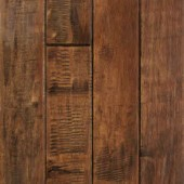 Maple Hand Sculpted Mullican Flooring 2-1/4 Cappuccino