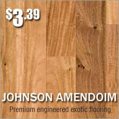 Johnson hardwood floors brazilian oak amendoim on sale
